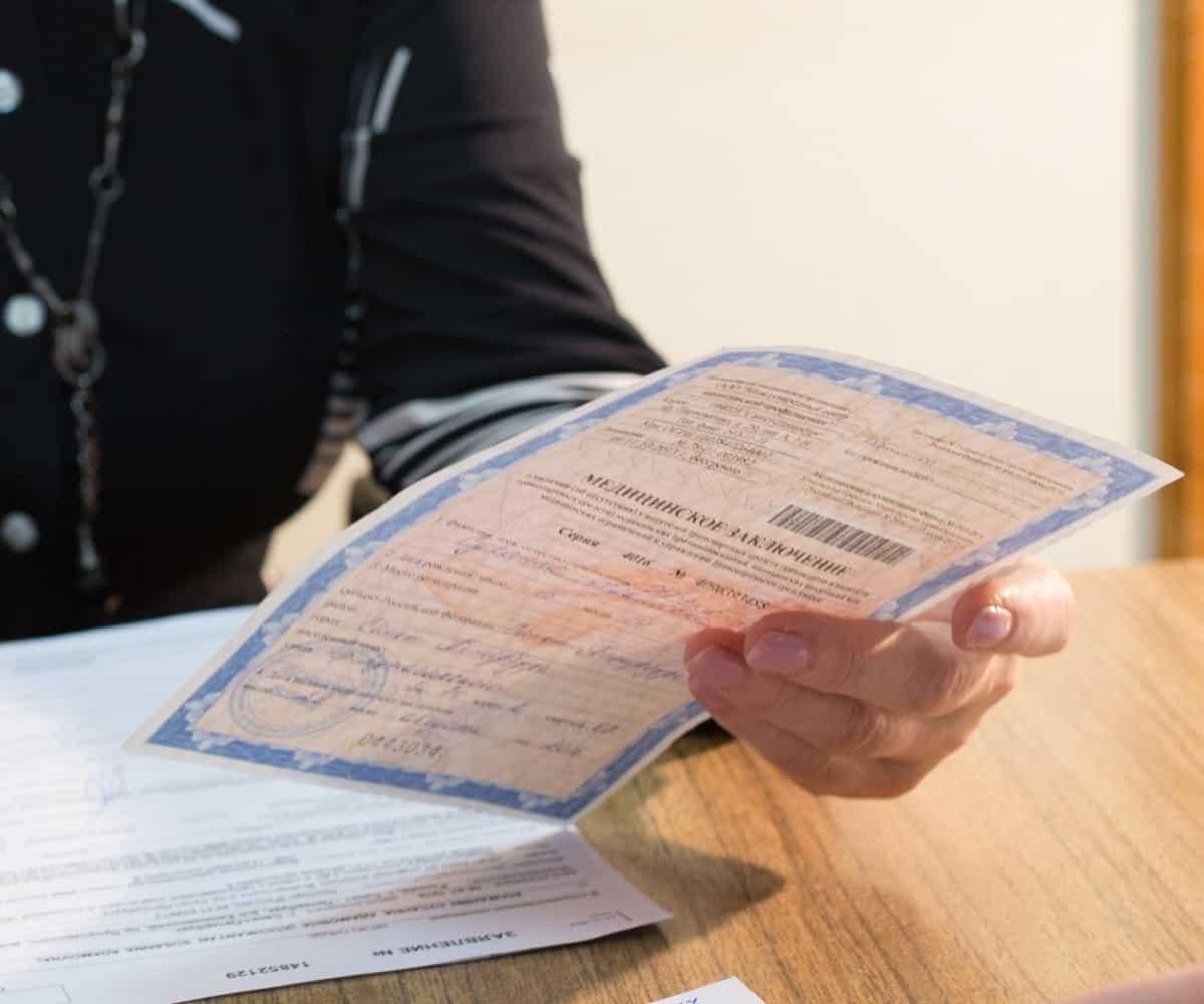 В силу вступают новые поправки в порядок получения водительской медицинской справки