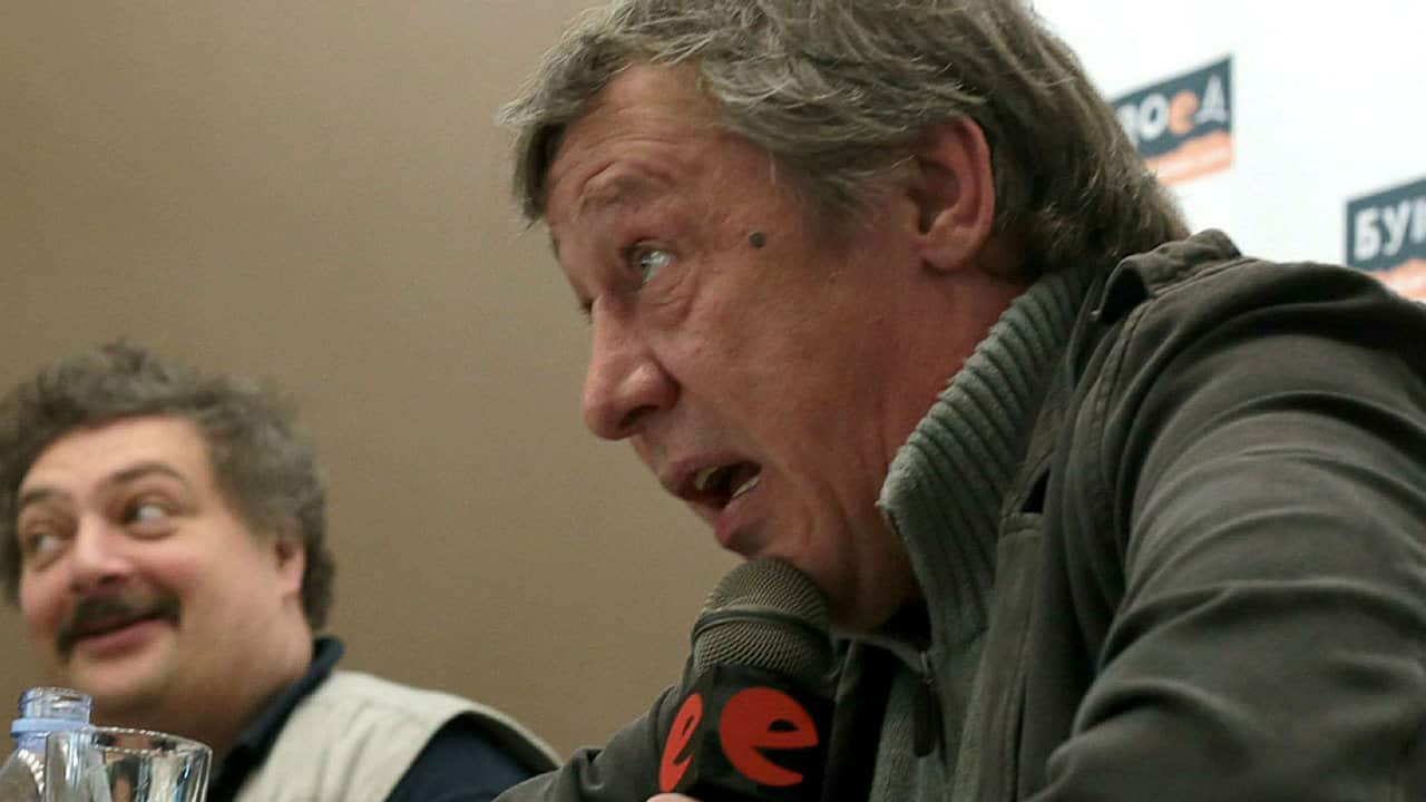 Михаил Ефремов заявил что у него нет проблем с алкоголем