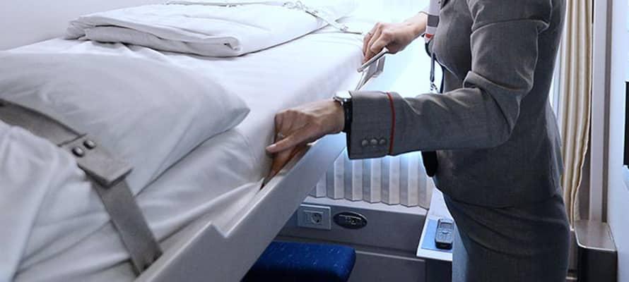 В какую сумму обходится в поезде комплект постельного белья в 2020?