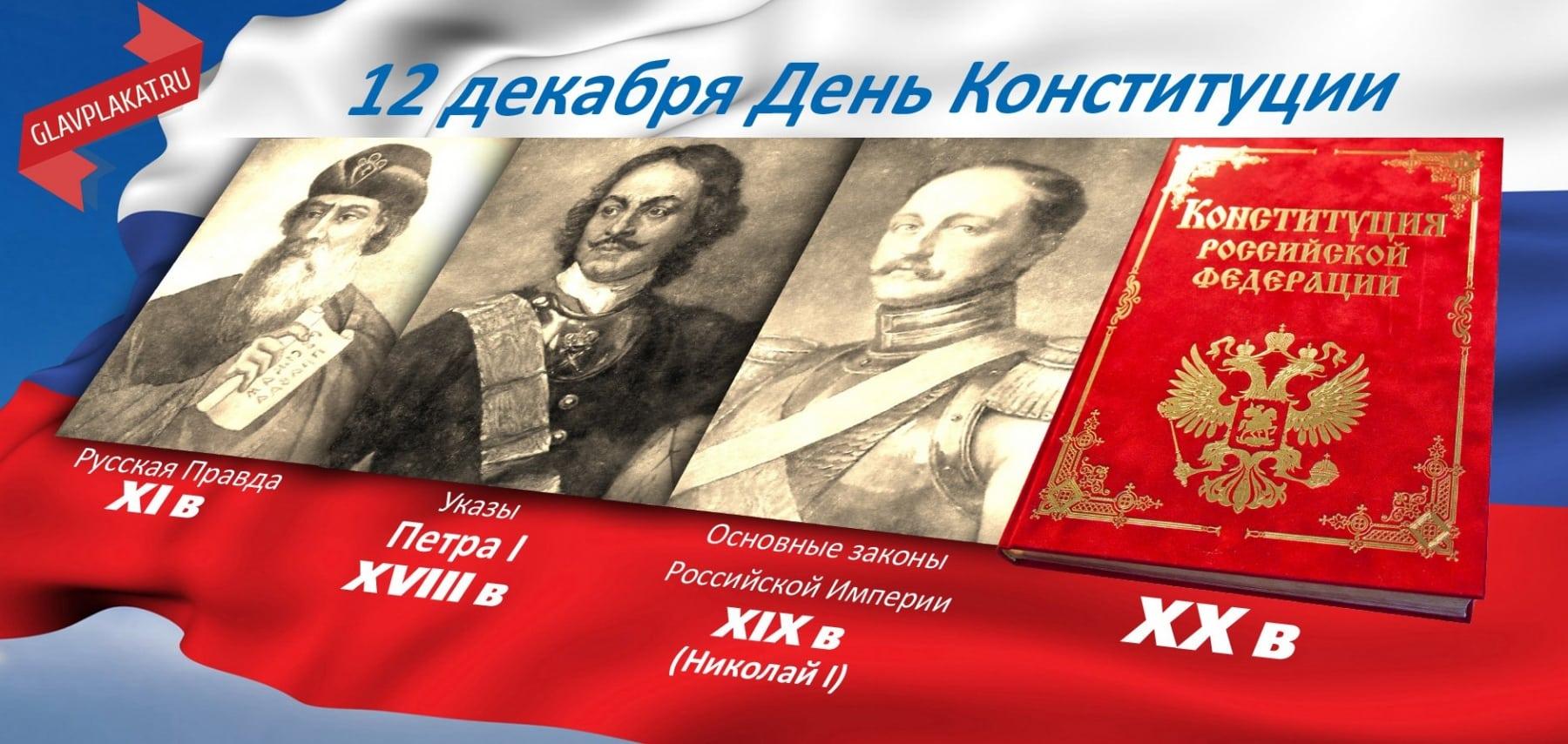 Когда День Конституции России в 2019 году: почему не выходной