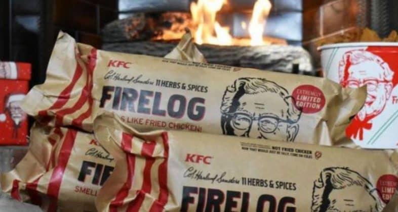 В KFC появились поленья с ароматом жареной курицы