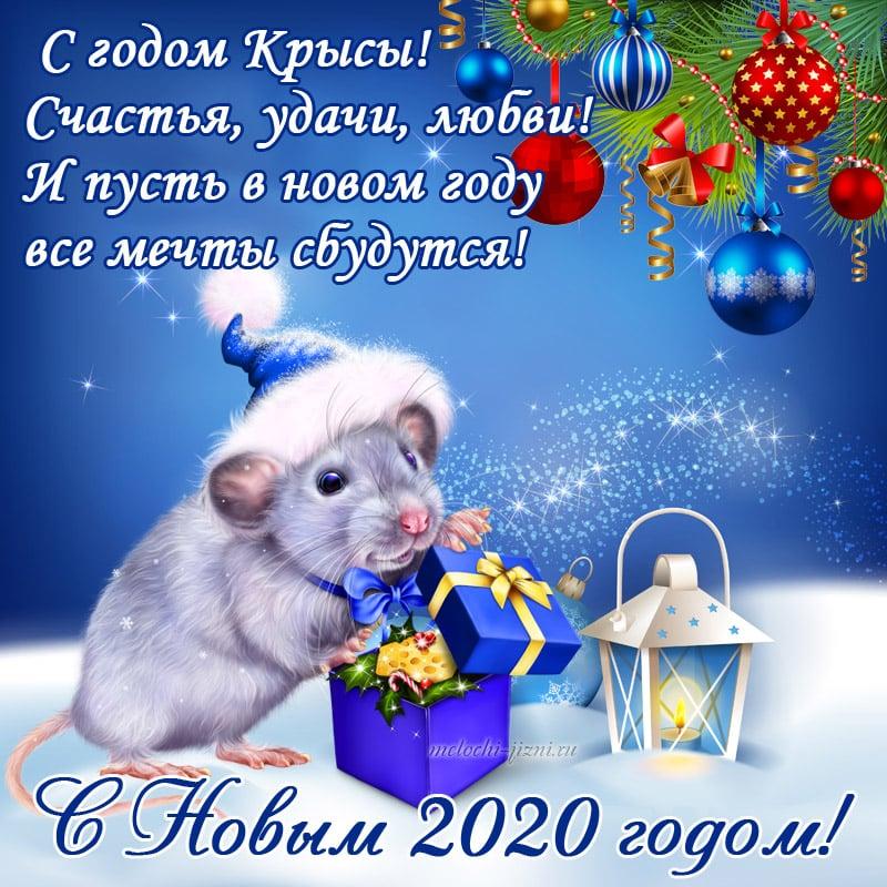 Красивые и новые стихи-поздравления с Новым Годом 2020 (годом Крысы)