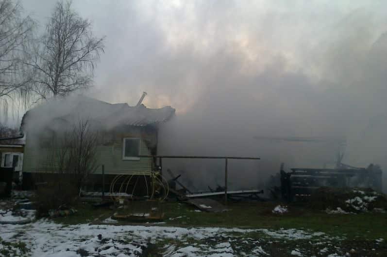 На пожаре в Пермском крае погибла женщина с тремя детьми