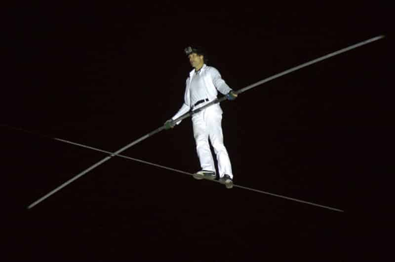 Канатоходец упал на выступлении в цирке Тольятти. (Видео)