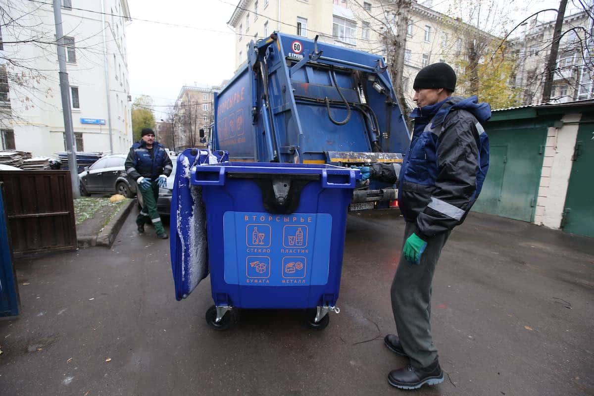 Москвичи переходят на раздельный сбор мусора с начала 2020 года