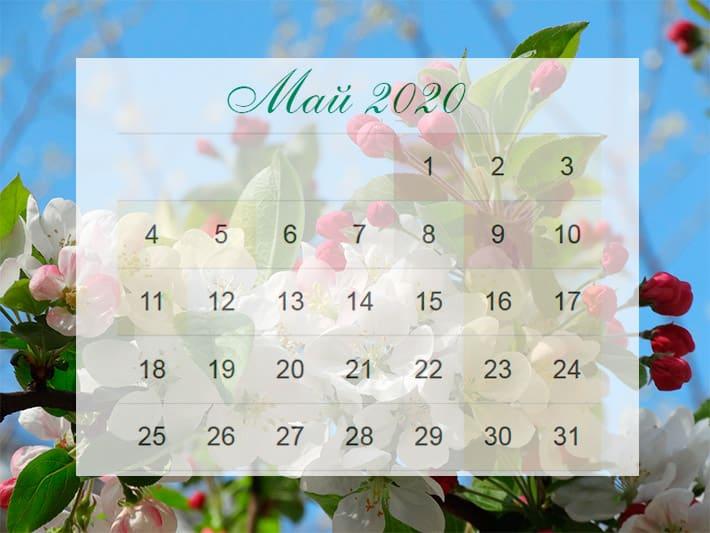 Как отдыхаем в мае 2020 года: майские выходные – официальный календарь выходных на майские праздники