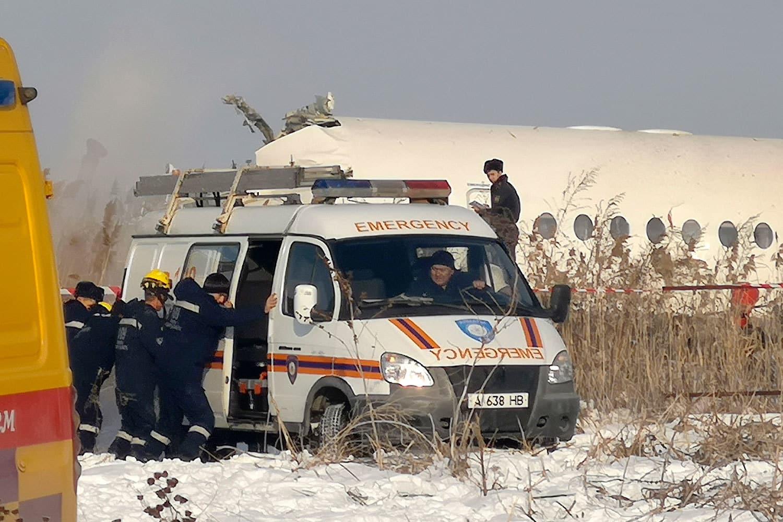 В Казахстане разбился самолёт: есть погибшие