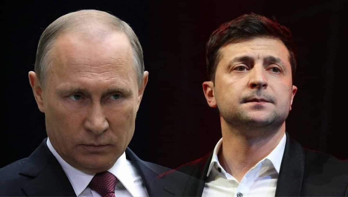 """Зеленский ответил на стишок Путина о том что """"у нас в квартире газ"""""""