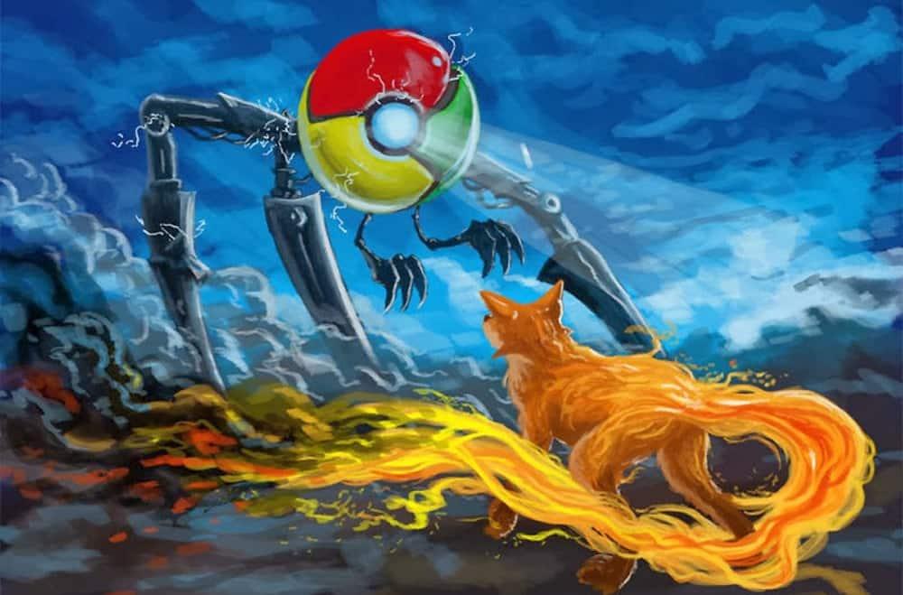 Google против Firefox: свобода личного пространства