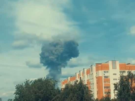 Взрывы в Дзержинске 1 июня: видео взрыва на оборонном заводе
