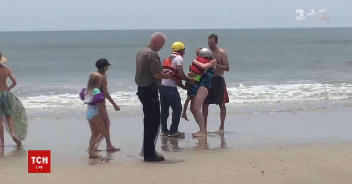 В океане спасли мальчика из США на надувной лодке