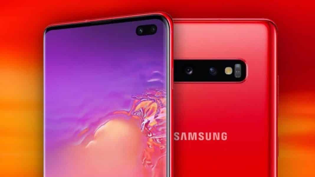 Galaxy S10 от Samsung в красном цвете: когда выйдет, где купить