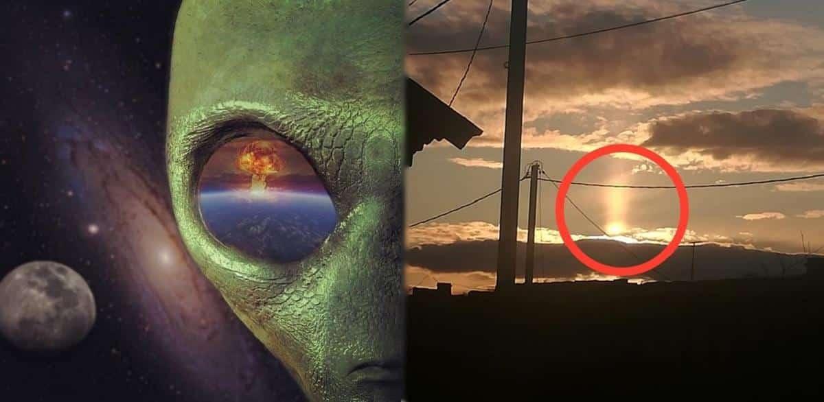 Свежие доказательства Нибиру обсуждают в сети: пришельцы пробуют новое оружие