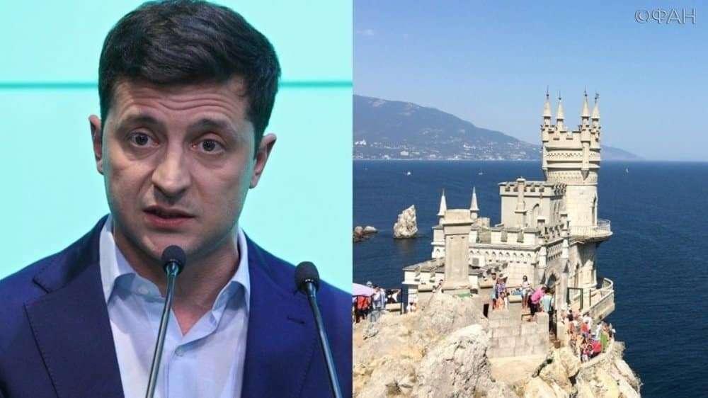 Зеленский собрался вернуть Крым Украине